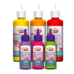 Pentart Junior lehúzható üvegmatrica festékek