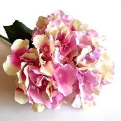 selyem-big-hortenzia-csokor-krem-rozsaszin-hobbykreativ