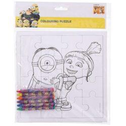 Szinezheto-puzzle-zsirkretaval-minion-es-agnes-hobbykreativ