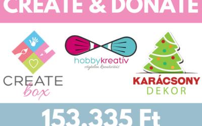 CREATE&DONATE