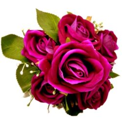 barsonyos-selyem-rozsa-csokor-bibor-hobbykreativ
