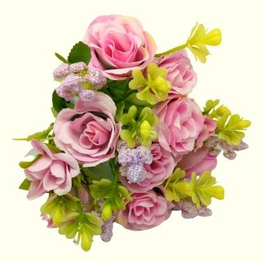 bogyos-selyem-rozsa-csokor-pafrannyal-rozsaszin-1-hobbykreativ