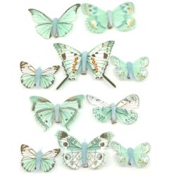 csipeszes-pillango-szett-turkizzold-10-db-hobbykreativ