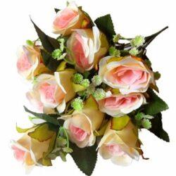selyem-rozsa-csokor-feher-rezgovel-vanilia-rozsaszin-hobbykreativ