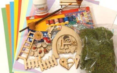 Gyereknapi kreatív csomag – Tündérkert