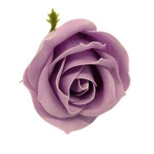 Illatos rózsa vintage lila 40 mm