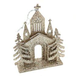 felakaszthato-templom-disz-pezsgoarany-csillamos-hobbykreativ