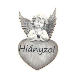 festett-angyal-fafigura-hianyzol-szurke-hobbykreativ