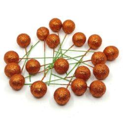 polifoam-golyok-drotszaron-arany-narancs-csillamos-hobbykreativ