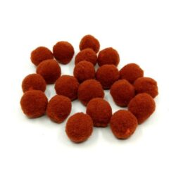 pompom-2-cm-barna-hobbykreativ