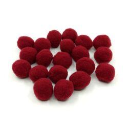 pompom-2-cm-burgundi-hobbykreativ