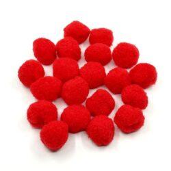 pompom-3-cm-piros-hobbykreativ