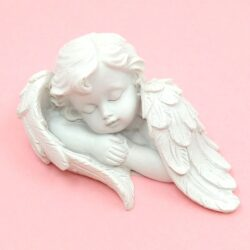 Kerámia angyalok - fehér