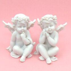 Kerámia angyal és egyéb figurák