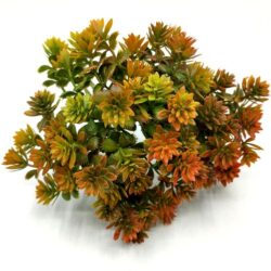 muanyag-diszitoelem-fogazott-levelekkel-rozsdaszold-hobbykreativ-