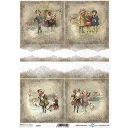 rizspapir-4-teli-barokk-kép-kutyusos-r1309-hobbykreativ