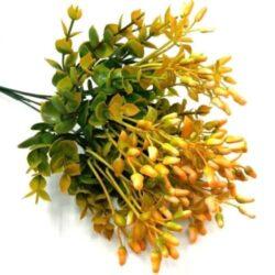 bimbos-buxus-muanyag-diszitoelem-narancssarga-hobbykreativ