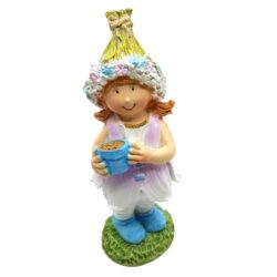 tavaszi-keramia-figura-virag-sapkaban-csereppel-hobbykreativ