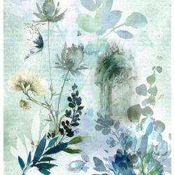 boltives-kapu-kek-viragokkal-akvarell-rizspapir-r1732-hobbykreativ