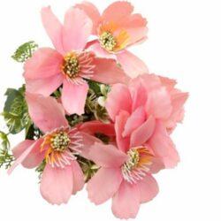 selyem-zinnia-csokor-rozsaszin-hobbykreativ