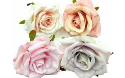 Gyönyörű selyem rózsa fejeket hoztunk Nektek!