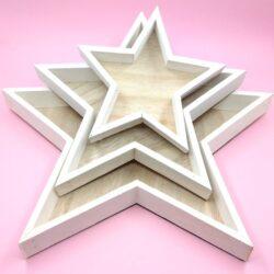 csillag-alaku-festett-feher-fa-tal-szett-1-hobbykreativ