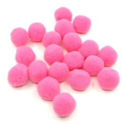 pompom-barbie-rozsaszin-2-cm-hobbykreativ