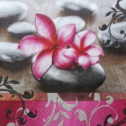 dekorszalveta-magnolia-kavicsokkal-hobbykreativ