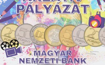 Magyar Nemzeti Bank kreatív pályázati felhívása