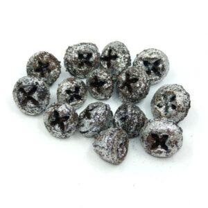 Eukaliptusz gomb grafit-ezüst 35 gr