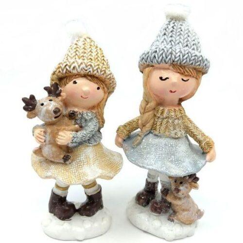 keramia-kislany-figura-szarvassal-szurke-barna-tobbfele-hobbykreativ