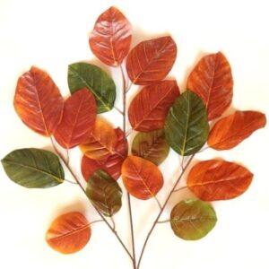 Óriási leveles díszítő ág 3 szálas