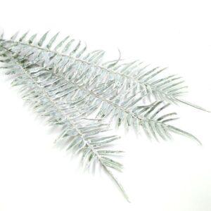 Havas pálma levél műanyag díszítőelem 3 szál